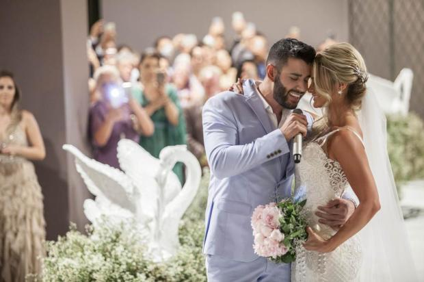 """""""Estou vivendo o melhor momento da minha vida"""", diz Gusttavo Lima, após casamento com Andressa Suita Rosimary Santos/Divulgação"""