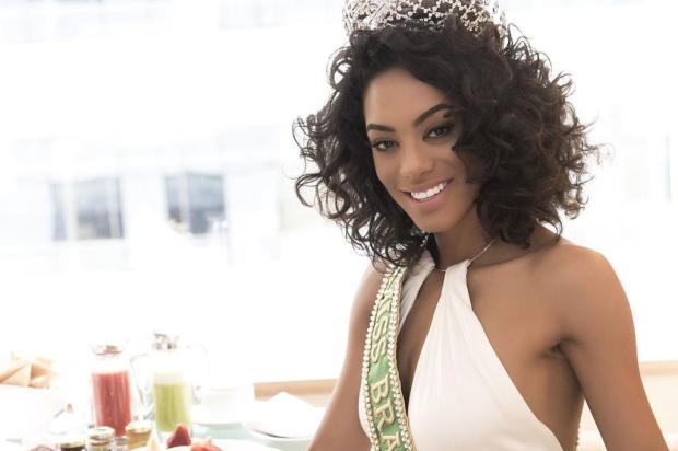 """""""Quero falar com Deise Nunes, certamente, ela tem boas dicas"""", diz a nova Miss Brasil, Raissa Santana  Lucas Ismael/Divulgação Miss BE Emotion"""