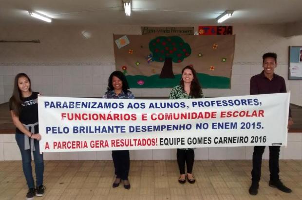 As lições da Gomes Carneiro, uma das dez escolas públicas gaúchas mais bem colocadas no Enem Roberta Schuler/Roberta Schuler