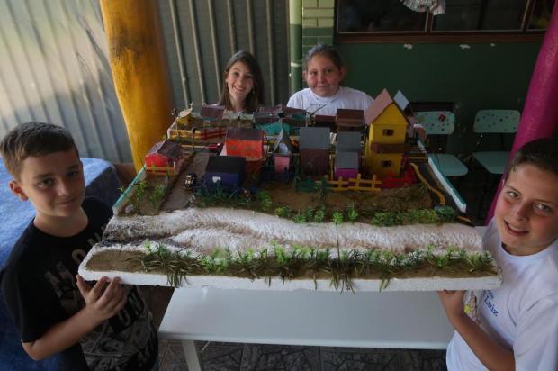 Enchente que isolou comunidade em 2015 virou lição para alunos da Lomba Grande, em Novo Hamburgo Tadeu Vilani/Agencia RBS