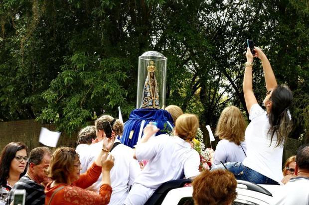Veja a programação das procissões de Nossa Senhora Aparecida em Porto Alegre Isadora Neumann/Agência RBS