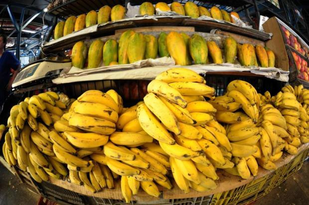 Preço da banana subiu 41% desde junho e já é o maior vilão do aumento da cesta básica em Porto Alegre Luiz ArMANDO VAZ/Agencia RBS