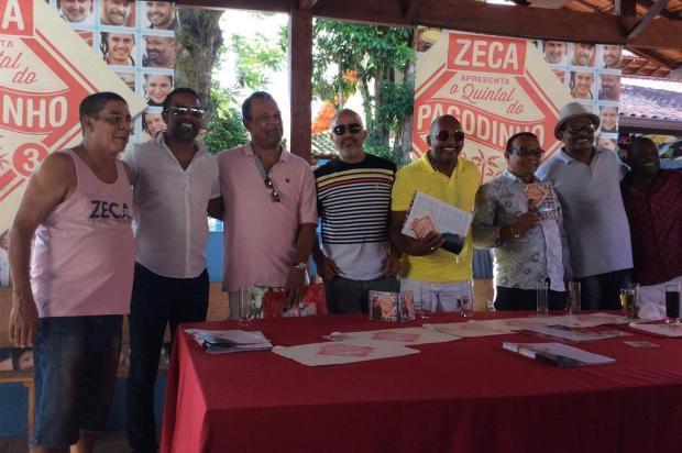 Zeca Pagodinho lança CD e DVD gravados em seu sítio, em Xerém José Augusto Barros/Agência RBS