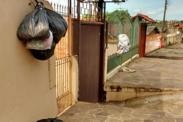 Jardim Porto Alegre enfrenta problemas no recolhimento de lixo Arquivo pessoal/Arquivo Pessoal