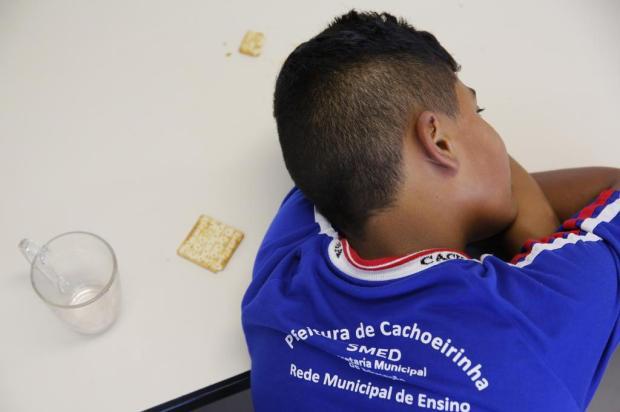 Após mudança de cardápio da merenda escolar, alunos reclamam de fome em Cachoeirinha Mateus Bruxel/Agencia RBS