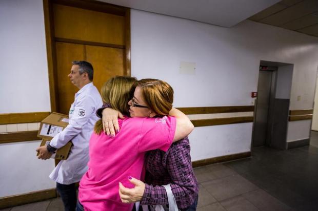 Trabalho voluntário no Hospital Conceição ajuda mulheres que recebem o diagnóstico de câncer de mama Omar Freitas/Agencia RBS