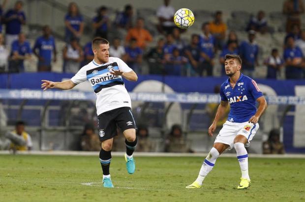"""Guerrinha: """"Grêmio favoritão"""" LUCAS UEBEL/Divulgação"""