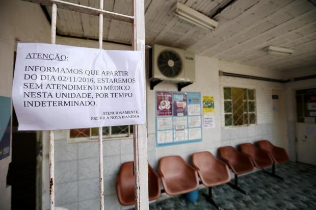 Famílias preocupadas com a falta de médicos na ESF Vila Nova Ipanema Carlos Macedo/Agencia RBS