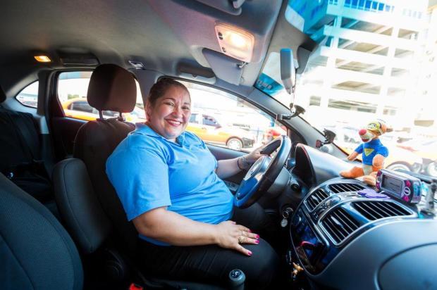 Dobrou o número de taxistas mulheres na Capital: saiba como é a realidade delas Omar Freitas/Agencia RBS
