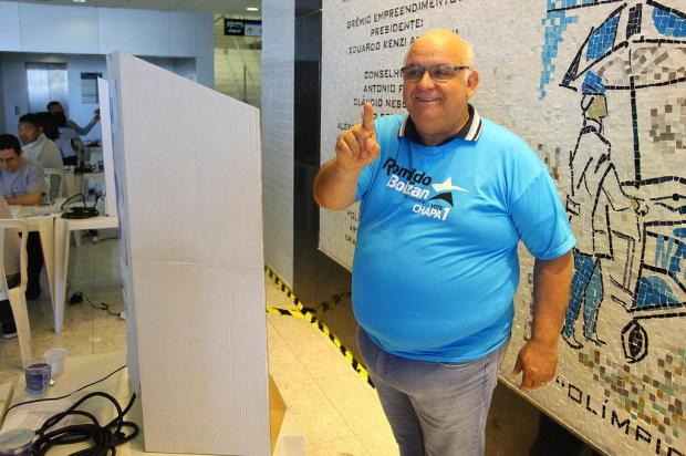 """Guerrinha: """"Futuro tricolor"""" Lucas Uebel/Grêmio/Divulgação"""