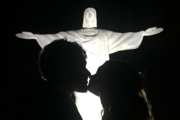 Jayme Matarazzo posta foto do casamento aos pés do Cristo Redentor Instagram/Reprodução