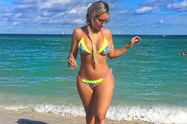 """""""Já recorri à fila de prioridade"""", diz Leticia Santiago, ex-BBB, grávida de seis meses Reprodução/Instagram"""