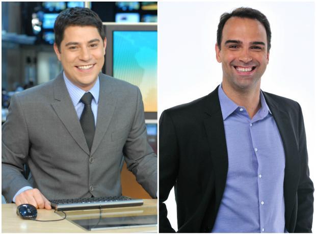 """Evaristo Costa vai substituir Tadeu Schmidt no """"Fantástico"""" durante as férias TV Globo / Divulgação/Divulgação"""