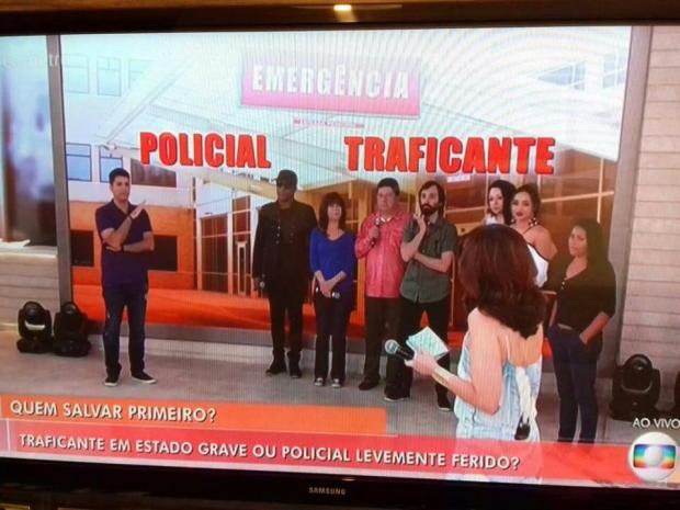 Após enquete polêmica, Fátima Bernardes é alvo de ataques nas redes sociais TV Globo / Reprodução/Reprodução