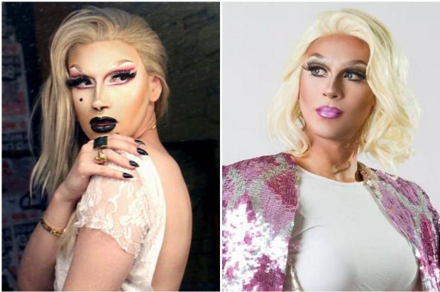 Duas drag queens gaúchas tentam vaga em novo programa da TV a cabo Montagem/Arquivo pessoal