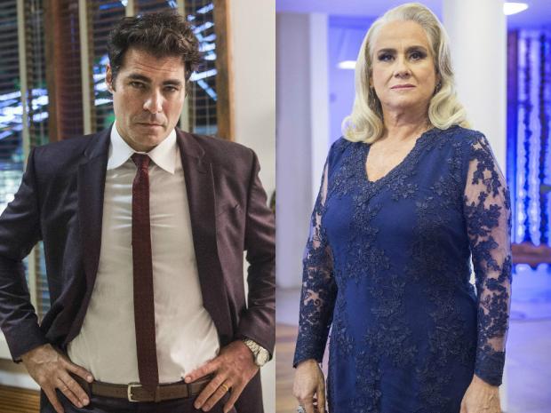 """""""A Lei do Amor"""": Mág e Ciro são amantes há mais de 20 anos Mauricio Fidalgo / TV Globo/TV Globo"""