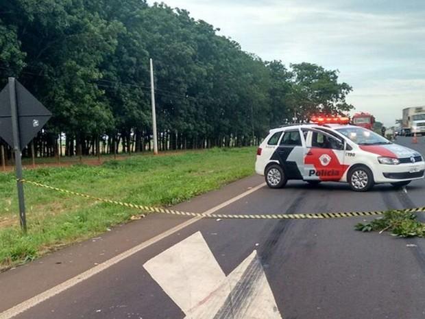 Mãe e filho morrem atropelados enquanto pediam ajuda depois de sofrerem acidente em rodovia Julio Pitbul / Olimpia24horas/Olimpia24horas