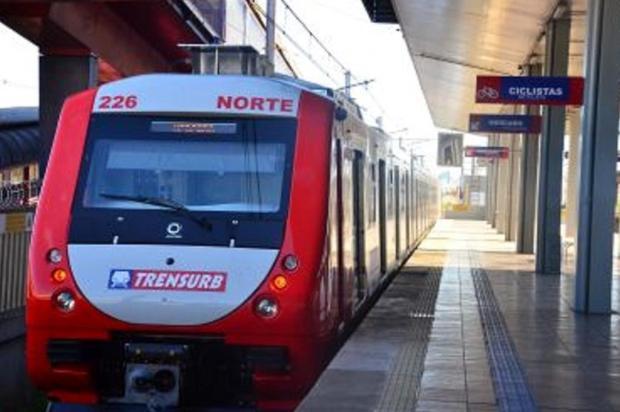 Metroviários paralisam atividades e trens não circulam nesta manhã Divulgação/Trensurb