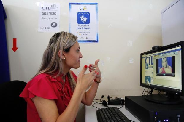 Alvorada conta com Central de Interpretação de Libras para atendimento a deficientes auditivos Mateus Bruxel/Agencia RBS