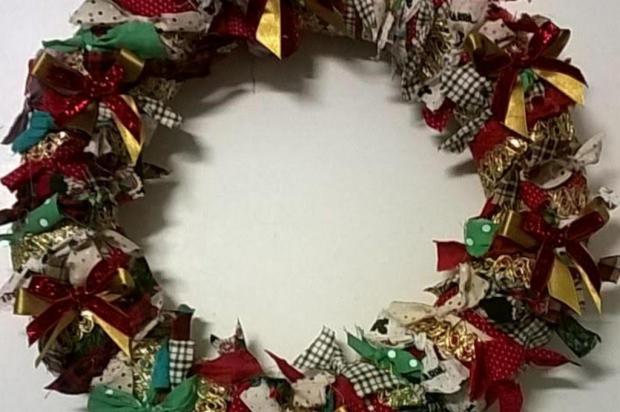 Cinco passos para fazer sua guirlanda de Natal  Divulgação/Divulgação