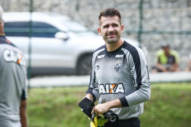 """Pedro Ernesto: """"Deve ser brincadeira"""" Bruno Cantini / Divulgação Atlético-MG/Divulgação Atlético-MG"""