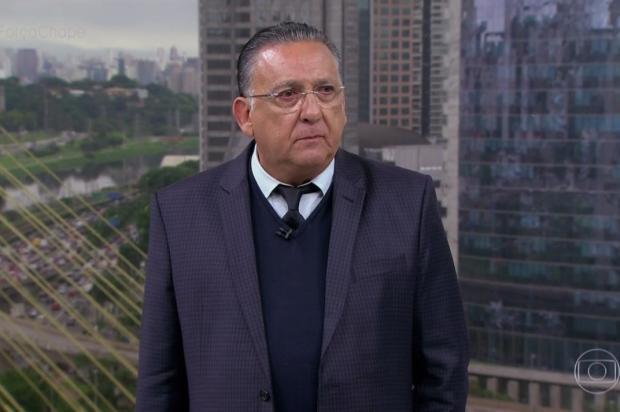 """Galvão Bueno após tragédia: """"Não tenho vontade de fazer mais nenhum jogo de futebol esse ano"""" TV Globo / Reprodução/Reprodução"""