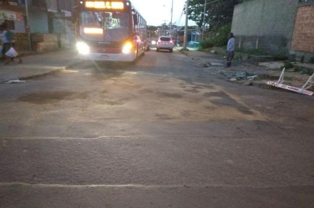 Ônibus voltam a circular em via da Zona Sul de Porto Alegre após 20 dias Leitor DG/Arquivo Pessoal