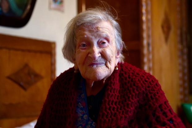 Conheça os segredos de Emma Morano, a única pessoa viva que nasceu nos anos 1800 Olivier Morin / AFP/AFP