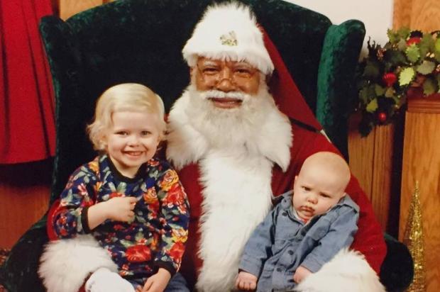 Shopping dos EUA contrata Papai Noel negro pela primeira vez Reprodução / Instagram/Instagram
