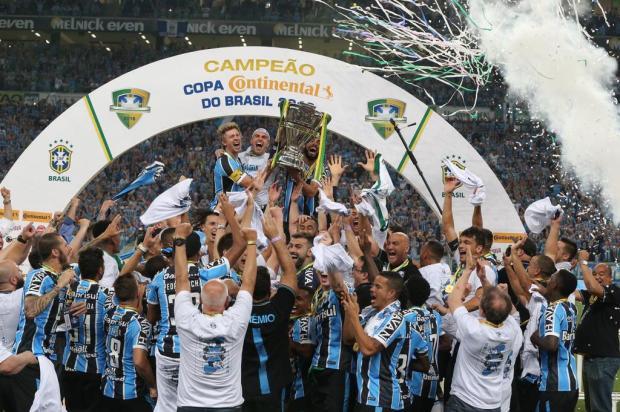 Pôster do Grêmio campeão será encartado no DG desta sexta Fernando Gomes/Agencia RBS