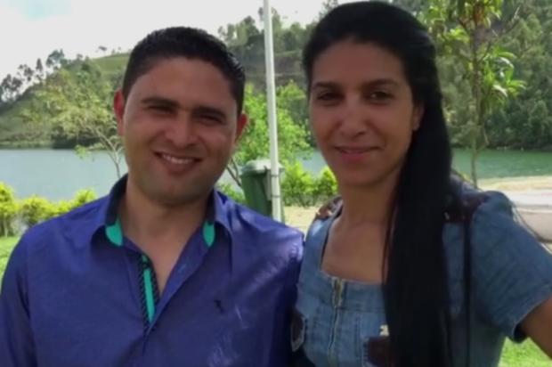 """""""Meu sonho era vê-la de noiva"""", diz noivo de mulher morta em queda de helicóptero Reprodução / Rede Globo/Rede Globo"""
