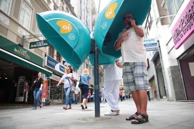 Teste em orelhões do Centro de Porto Alegre aponta que mais da metade estão mudos André Ávila/Agencia RBS