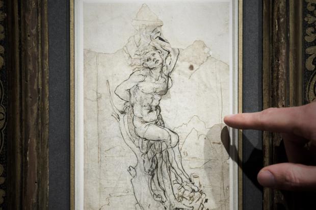 Desenho perdido de Leonardo da Vinci é encontrado na França Philippe Lopez / AFP/AFP