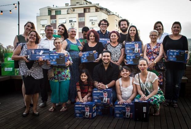 Vencedores do Concurso Culinária 2016 são premiados Jorge Volkmer Jr / Divulgação/Divulgação