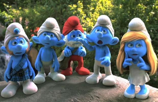 """Sessão da Tarde exibe """"Os Smurfs"""" nesta sexta-feira Reprodução / Reprodução/Reprodução"""