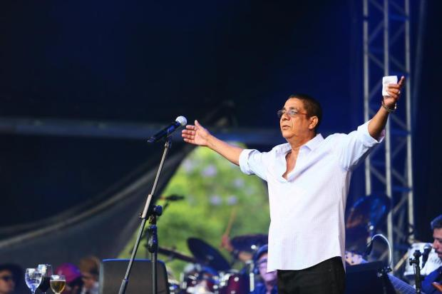 Zeca Pagodinho faz show para 30 mil pessoas no Parque da Redenção Lauro Alves/Agencia RBS