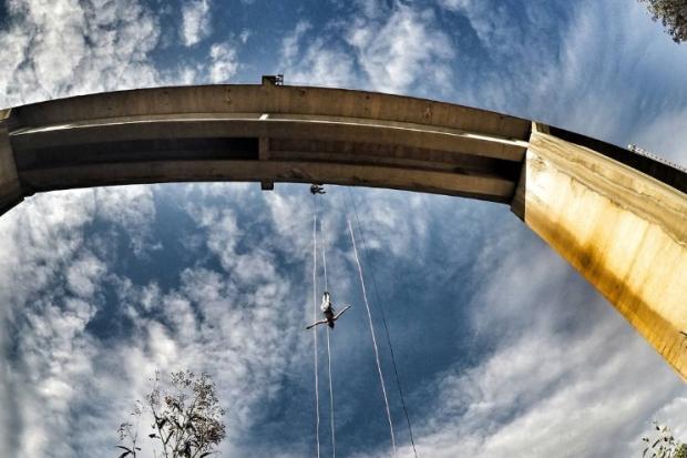 Homem morre ao saltar de bungee jump no interior de São Paulo Instagram / Reprodução/Reprodução