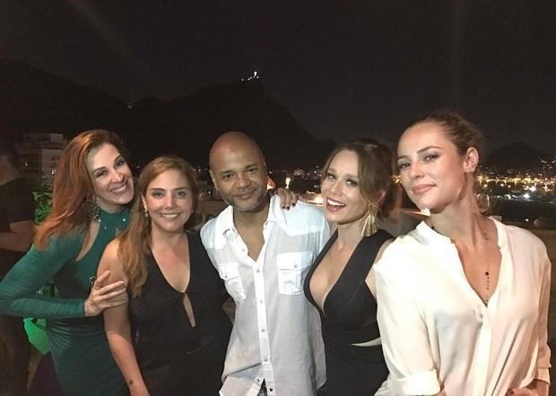 Claudia Raia reúne famosos para festa de aniversário no Rio Reprodução / Instagram/Instagram