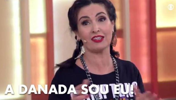 Fátima Bernardes dança funk com Ludmilla e vira assunto na internet TV Globo / Reprodução/Reprodução