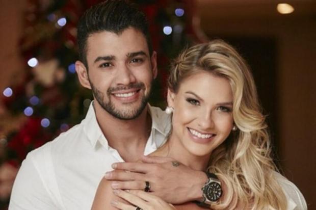 Gusttavo Lima e Andressa Suita esperam o primeiro filho reprodução/instagram