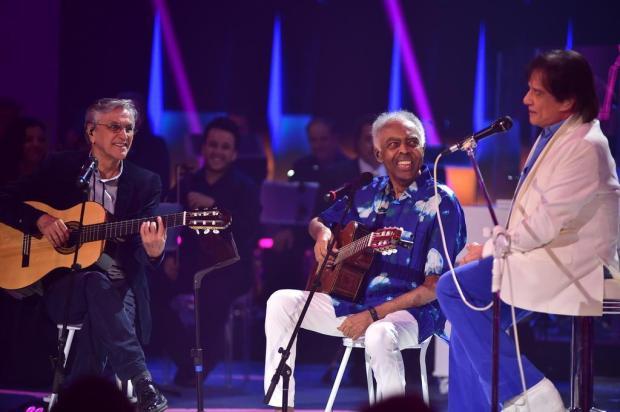 """Roberto Carlos surpreende e canta """"Quero que Vá Tudo pro Inferno"""" depois de 30 anos Mauricio Fidalgo/TV Globo/Divulgação"""