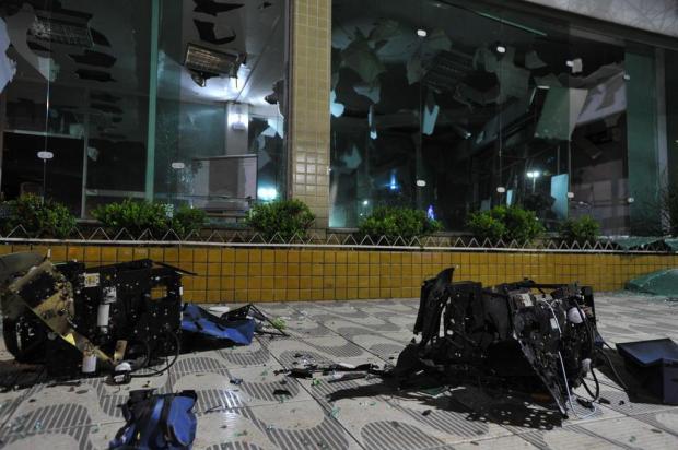 Dos quatro feridos em assalto a bancos em São Sepé, dois foram baleados e passarão por cirurgia Germano Rorato/Agencia RBS