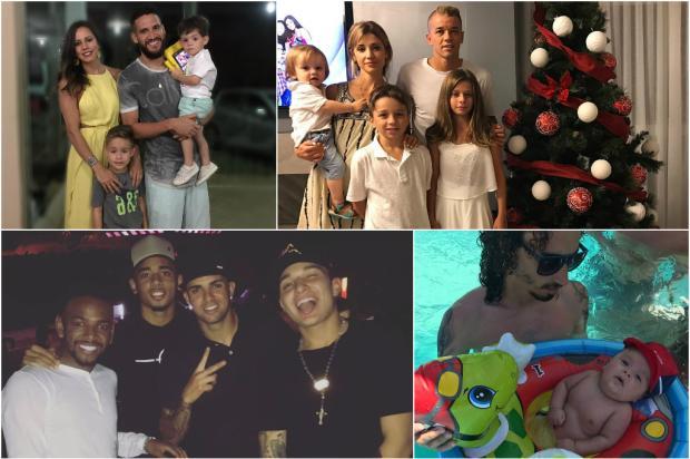 FOTOS: veja como jogadores da dupla Gre-Nal passaram o Natal Instagram / Reprodução/Reprodução