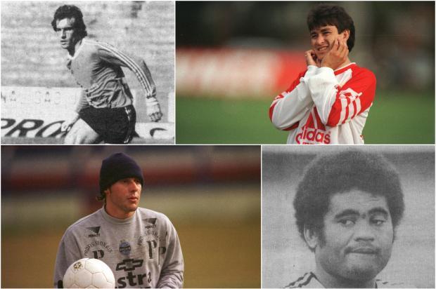 QUIZ: você sabe quem são esses ex-jogadores que foram campeões pela dupla Gre-Nal? Montagem sobre fotos/