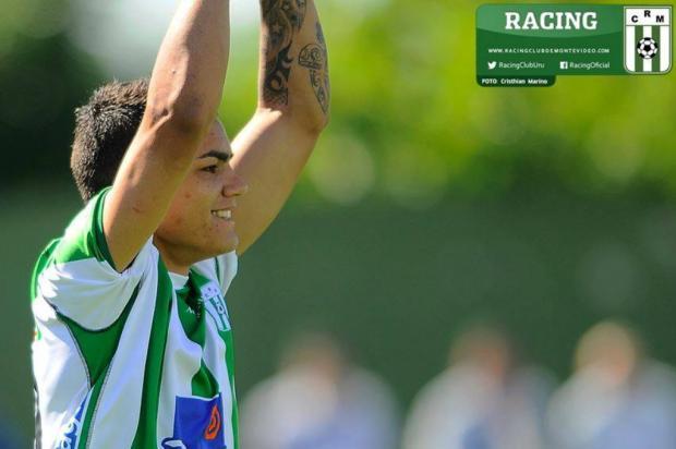 """José Augusto Barros: """"A semana se inicia bem"""" Racing-URU/Divulgação"""