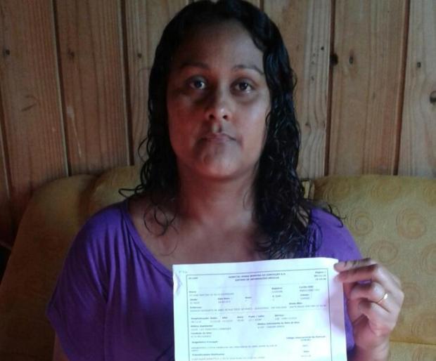 Com doença no útero, moradora de Canoas conseguiu atendimento após procurar cinco hospitais Leitor DG/Arquivo Pessoal