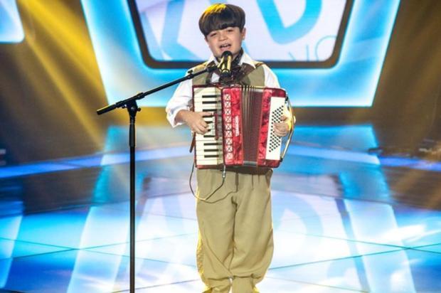 """""""Foi emocionante"""", diz Thomas Machado, que encantou os jurados no The Voice Kids Isabella Pinheiro/Gshow/Divulgação"""