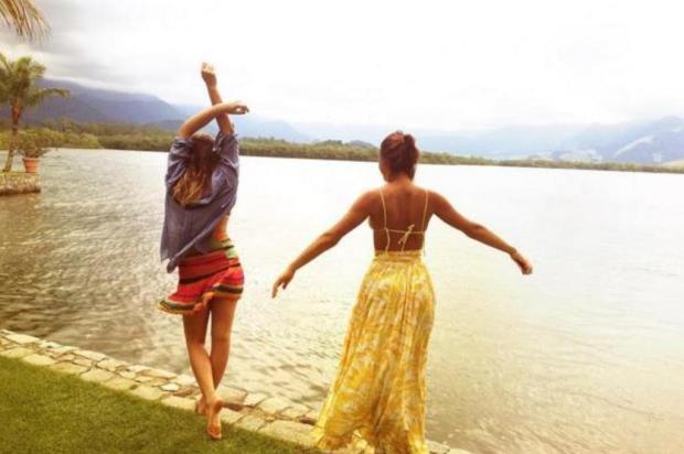 Bruna Marquezine e Sasha curtem final de semana em Angra dos Reis Instagram/Reprodução