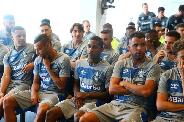 """Cacalo: """"A reapresentação dos Campeões"""" Lauro Alves/Agencia RBS"""
