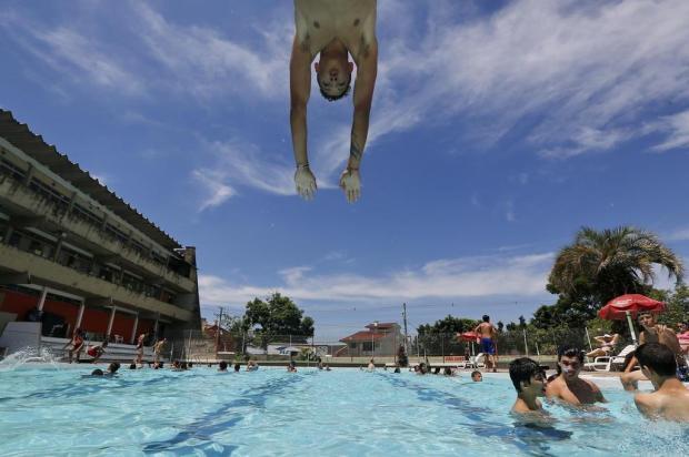 Confiras as piscinas públicas de Porto Alegre que vão abrir nesta temporada Mateus Bruxel/Agencia RBS